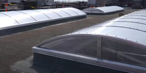 Coquitlam Roofers final project commercial skylight