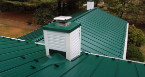 Coquitlam Roofers green metal roof