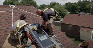 Coquitlam Roofers Skylight Final Install Step