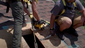 Coquitlam Roofers Skylight Home Install