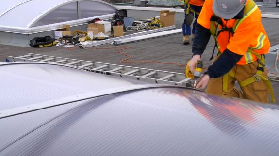 Coquitlam Roofers building skylight
