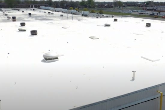 Coquitlam Roofers Final Product of Flat Roof