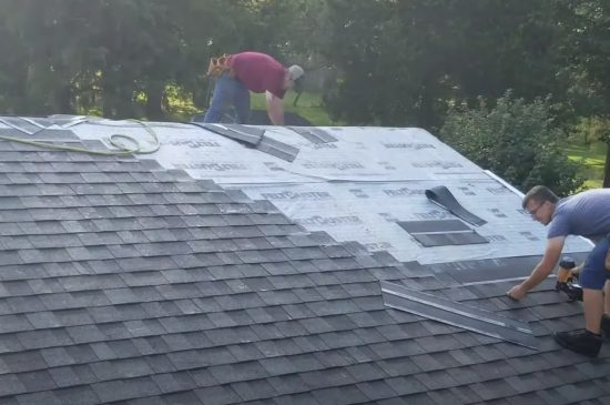 Coquitlam Roofers doing residential roof installation