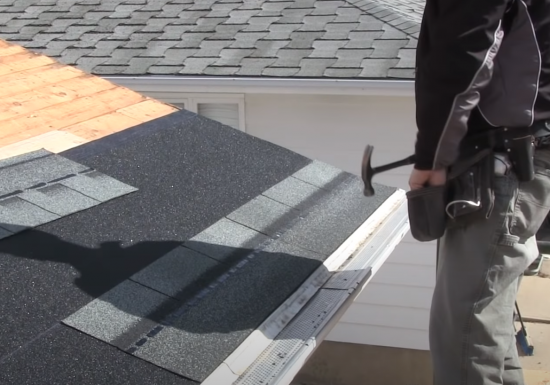 Coquitlam Roofers replacing shingles