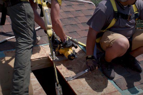Coquitlam Roofers Skylight Home Install